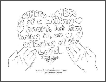 33 being thankful exodus 355 coloring page and story exodus biblememory versecatholic