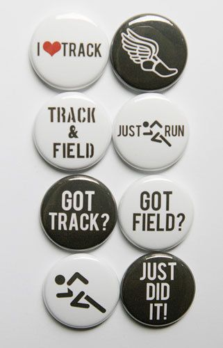 These are one inch flair buttons. There are 8 buttons in this set. If you would like a particular school color let me know