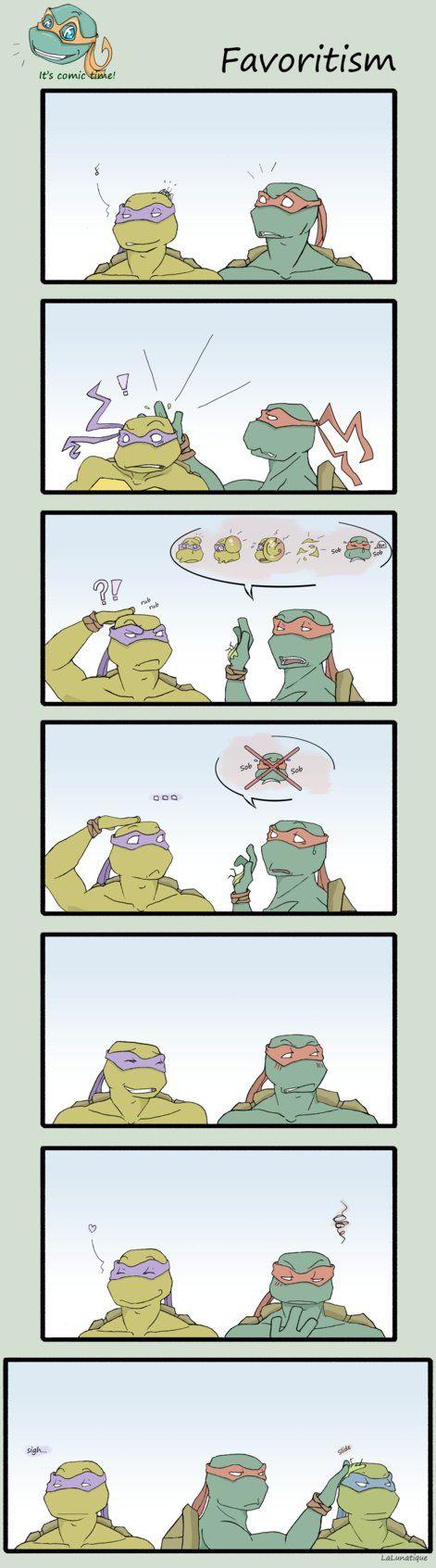TMNT Comic 2 by *LaLunatique on deviantART