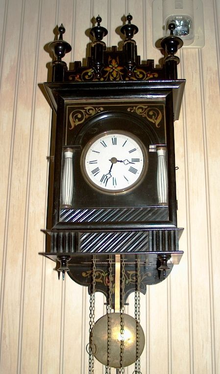 Black Forest Clock 1870 wooden movement