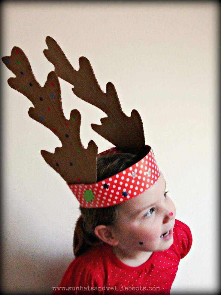 DIY Reindeer Antlers. DECEMBER CALENDAR IDEAS