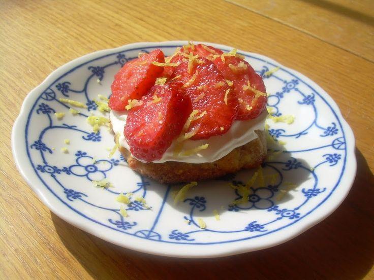 Aardbeitaartje voor 1 - Glutenvrij - Eet Goed Voel Je Goed
