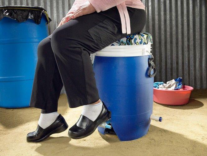 foot pedal washing machine