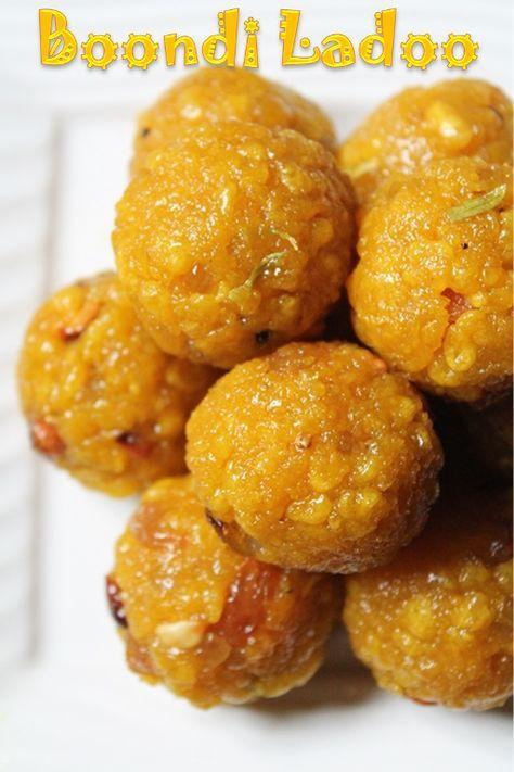 YUMMY TUMMY: Boondi Ladoo Recipe / Boondi Laddu Recipe