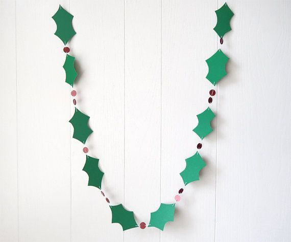 22 UNIQUE HANDMADE GARLAND IDEAS TO TRY WITH YOUR KIDS. Christmas  GarlandsChristmas PaperHomemade ...
