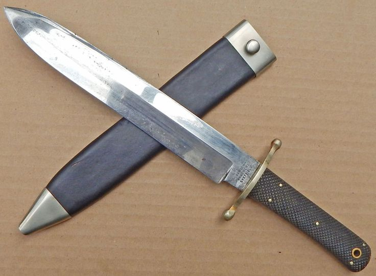 19th Century UK Made BOWIE Knife by The RAWSON BROTHERS Of Sheffield ENGLAND  | eBay