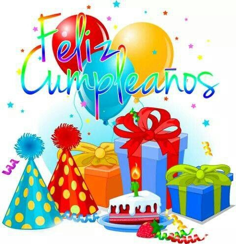 *Feliz cumpleanos. Happy Birthday #spanish
