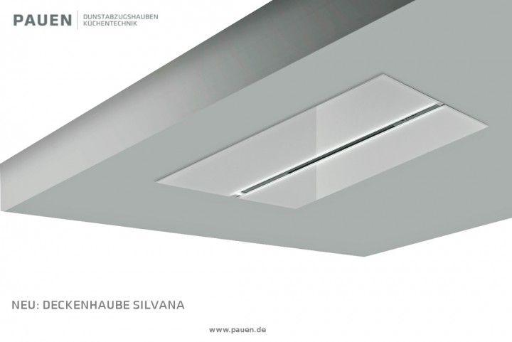 Silvana vetro intern dunstabzugshauben deckenmontage deckenlüfter
