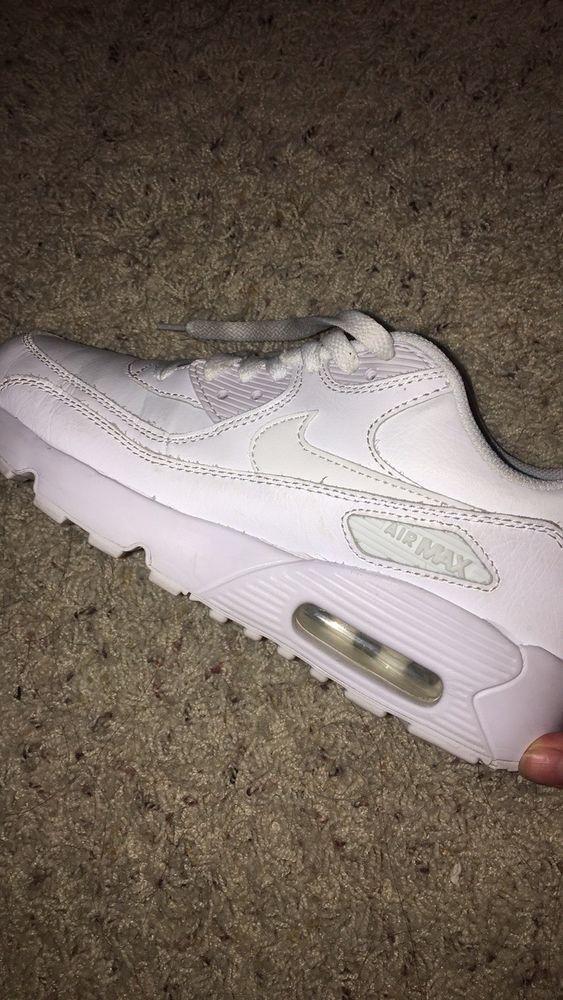 super popular 8133a 031bc ... sale white nike air max 90 athletic shoes pinterest athletic shoes shoes  and athletic 4516d f86af