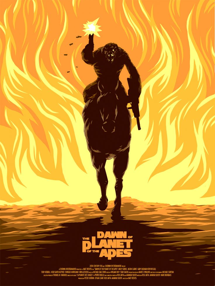 Dawn of the Planet of the Apes / Planet der Affen Revolution