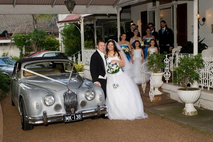 Bridal Car at Victoria House