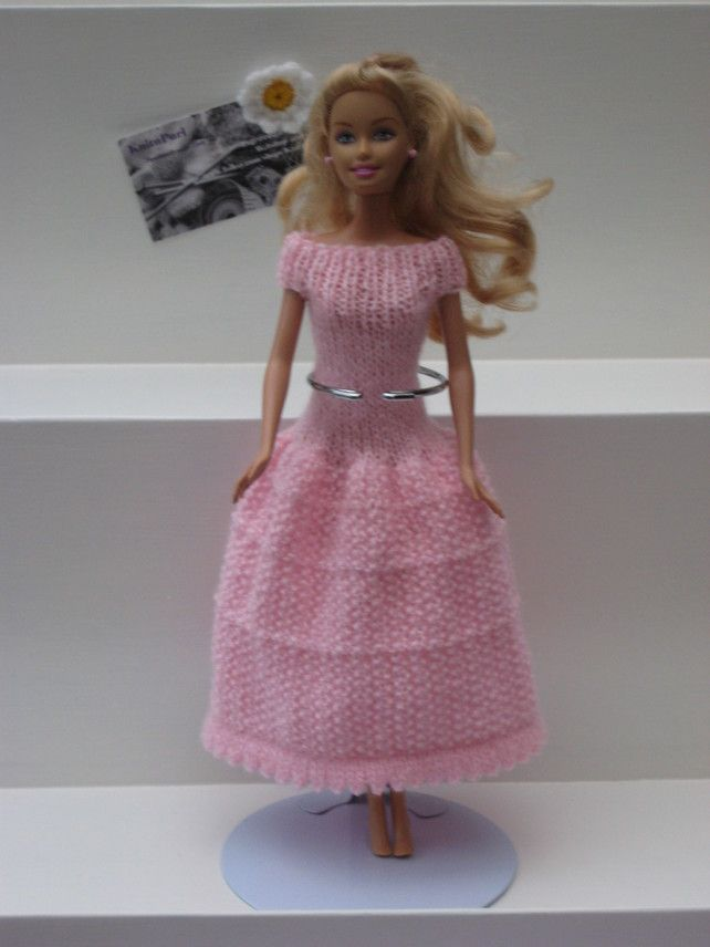 https://folksy.com/items/4187070-Barbie-Clothes-Pink-Moss-Stitch-Dress