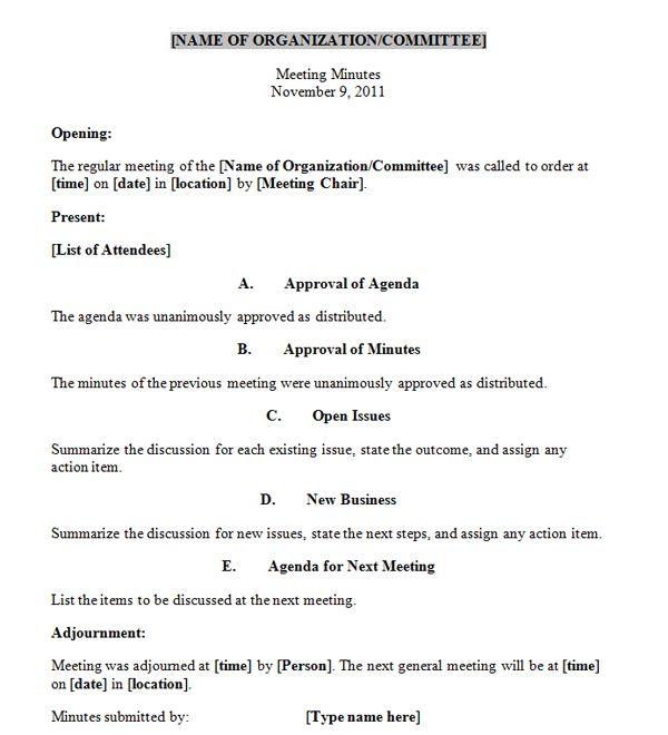 httpmeetingminutestemplatewpcontentuploads201111 – Meeting Minutes Form