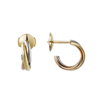 Trinity Mini Earrings Small Model 3 Gold Fine For Women Cartier Jewelry In 2018 Pinterest And