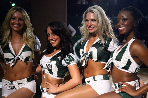 2009 Jets Cheerleading Squad Final Auditions