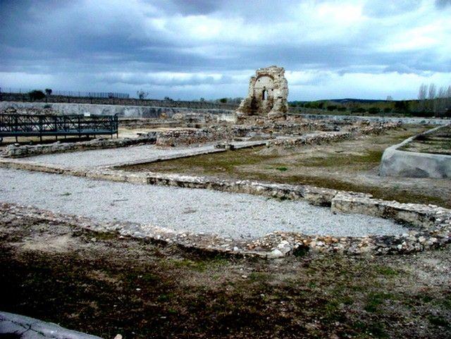 Villa Romana de Carranque. Vista general de los restos del 'Palatium'