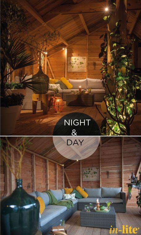 Jouw tuin komt 's avonds pas echt tot leven met in-lite buitenverlichting! #garden #outdoorlighting