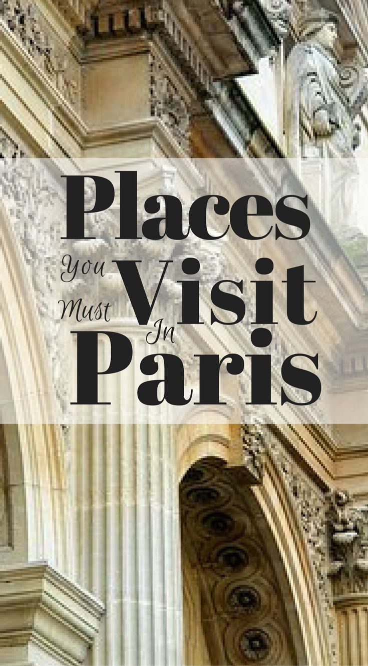 Places you must visit in Paris. We have put together a list of the places in Paris you must see, you simply can not miss these places. Paris is one of the most visited cities in Europe and has a surplus of iconic things to do and see. Click to read more at http://www.divergenttravelers.com/long-weekend-in-paris/