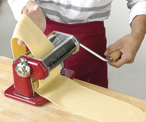Fresh Pasta for Lasagne - Easy and delicious