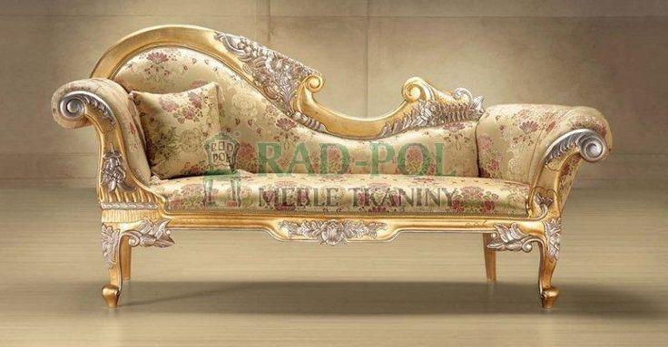 Szezlong 322/K - Szezlongi - Rad-Pol - Meble Stylowe, meble włoskie, klasyczne meble retro, sofy stylowe, narożniki