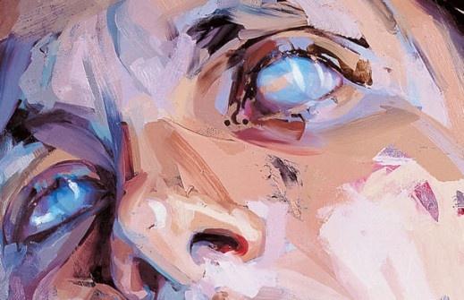 Jenny Saville Painting Detail