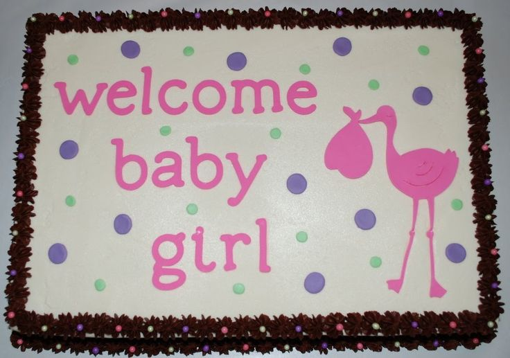 Baby shower sheet cake ideas it 39 s a chocolate 1 4 sheet for Living room 5 minute chocolate cake
