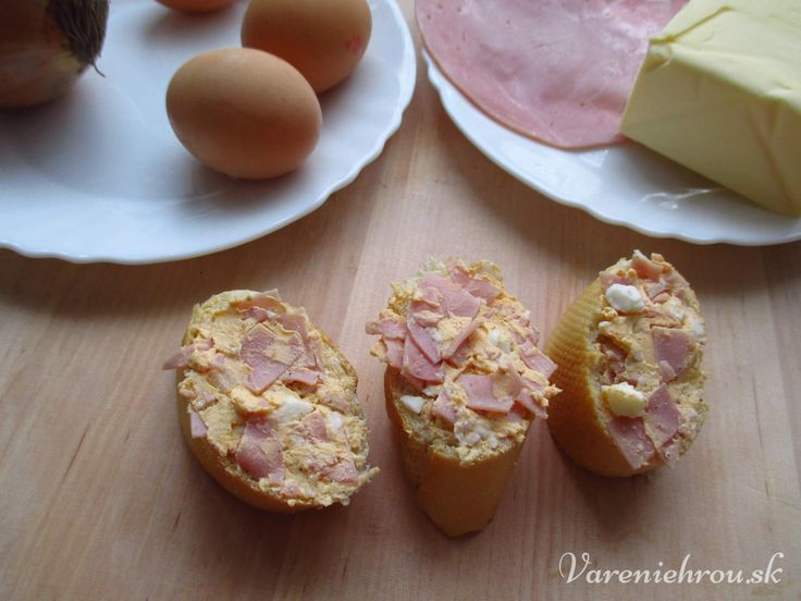 Šunkovo – vajíčková nátierka