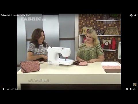 Bolsa Clutch com Kátia Martinelli - YouTube