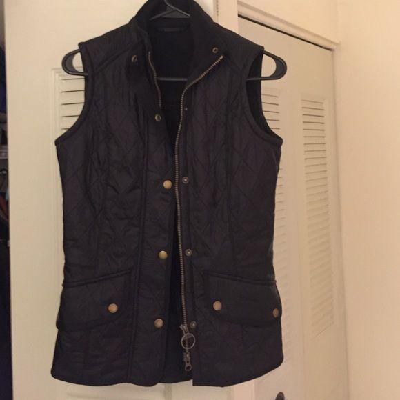 Black Barbour vest NWOT Beautiful NWOT Barbour best size 4. Barbour Jackets & Coats Vests