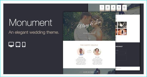 27 WordPress Wedding Themes and Templates