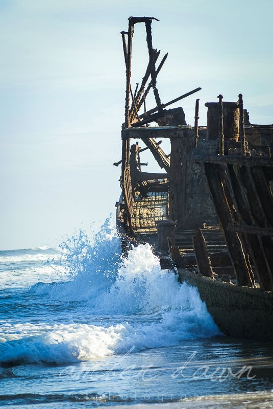 The Maheno on Fraiser Island, Australia. Amazing to see such a large shipwreck on land rather than under water. Amber Dawn Photography | Travel photography | Trinidad and Tobago photographer.