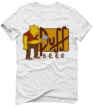 PUFF BEER Koszulka Tshirt Bluza Męska Damska