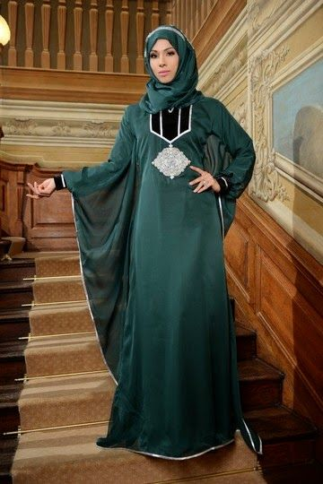Latest Cotton and Silk Abaya Collection