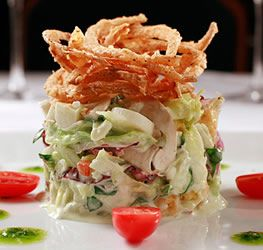 Chopped Salad with Lemon Basil Dressing from Ruth's Chris Steak House