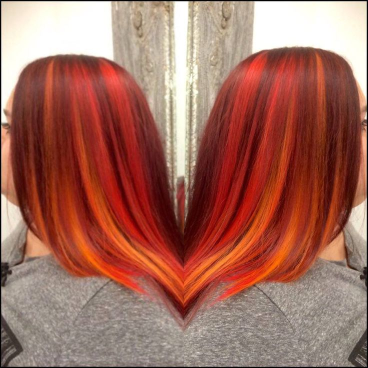 Fire hair color by Jolanka Bellerive-Milot