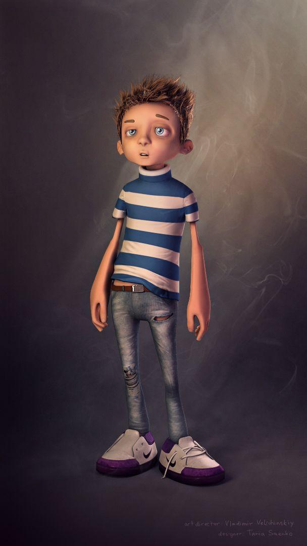 3D Kid Character #kid #character