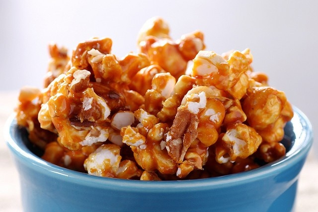 National Caramel Corn Day. Caramel corn is not just a snack for the movies.  This sweet and salty confection is delicious for almost any occasion.  If you want to up the flavor, add a few teaspoons of sriracha to the caramel sauce or bacon bits. - Foodista.com #popcorn