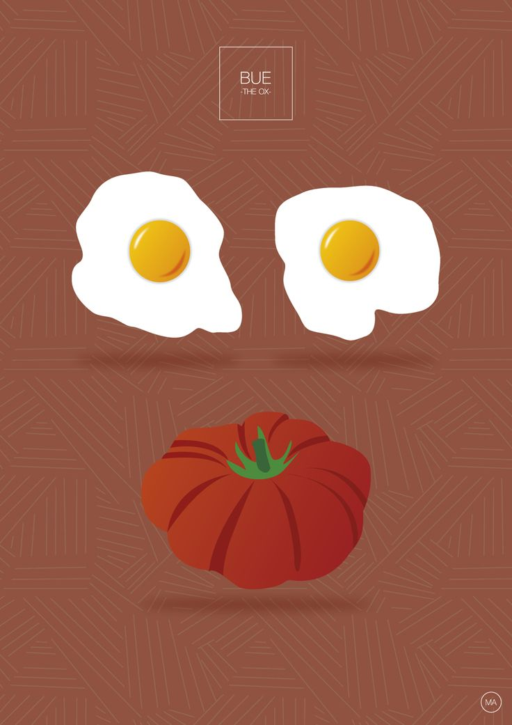 Il bue - the ox - vegetarian version #bue #ox #beef #vegetarianversion #MAdesigner #flatdesign #illustration #infographic #rebus #graphicdesign #graphicdesign #visual #poster #design #followme