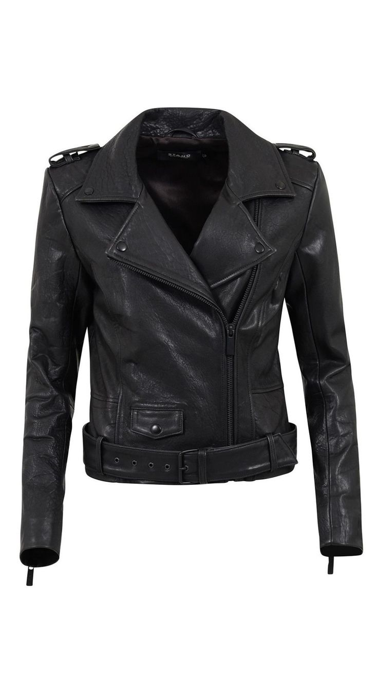 Stand - Daria Leather Jacket