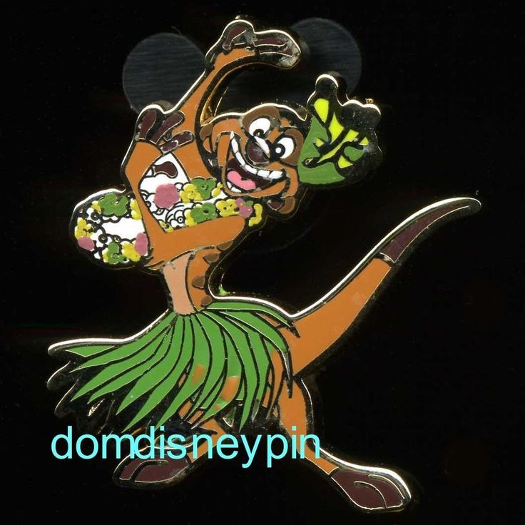 Disney Pin *Parks* - Themed Set - The Lion King (Timon in a Grass Skirt ONLY)!  | eBay