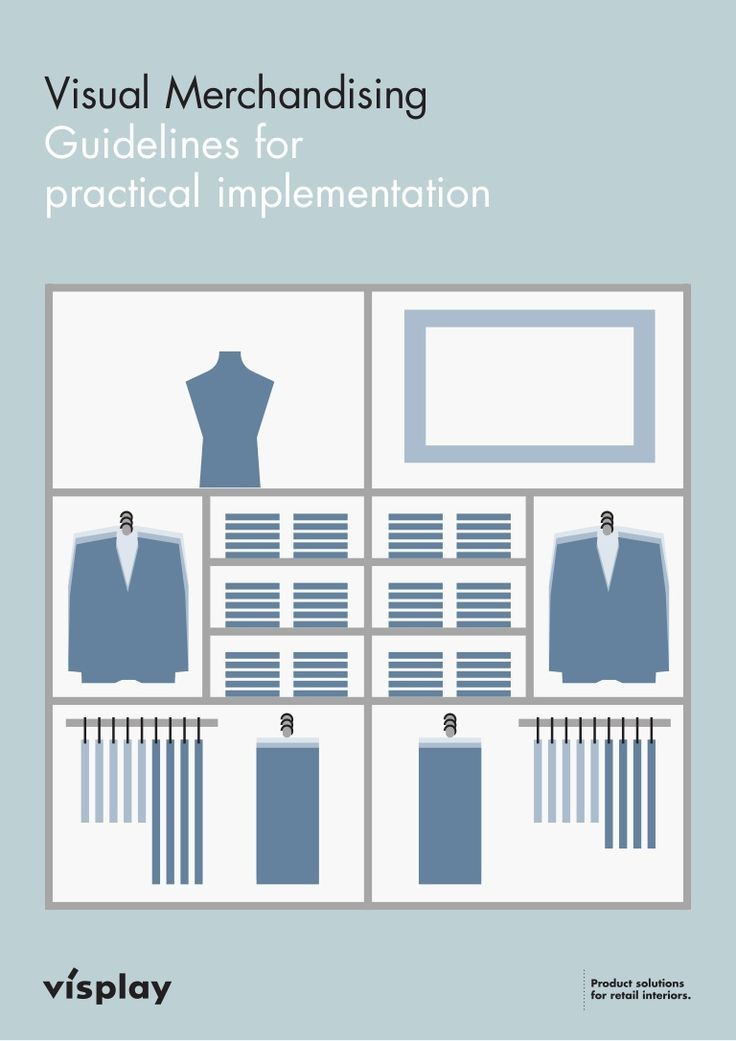 "Here's a Visual Merchandising booklet from Visplay for both the young student and the ""old pro"". Excellent guide to either refresh your knowledge or to spark y…"