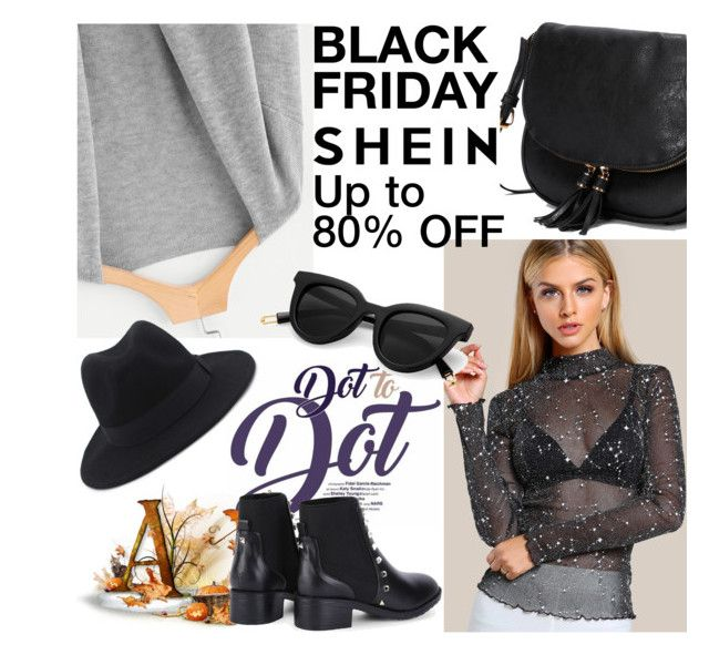 """""""SHEIN - It's Black Friday!"""" by albinnaflower ❤ liked on Polyvore"""
