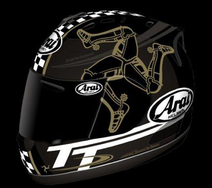 Arai RX-7 GP Isle of Man TT series