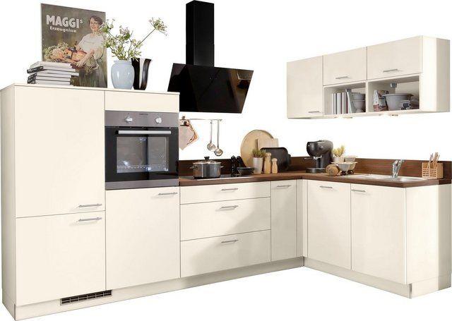 Winkelküche »Scafa«, ohne E-Geräte, Stellbreite 305 x 185 cm ...