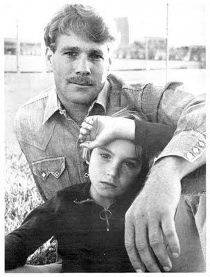 This is one of my favorite pictures of them.  Ryan and Tatum O'Neal