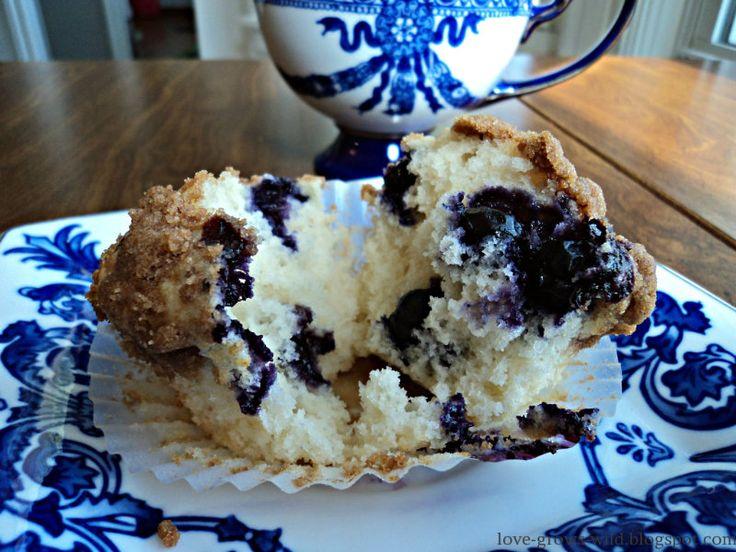 To DIE for Blueberry Muffin recipe!! | Desserts! | Pinterest