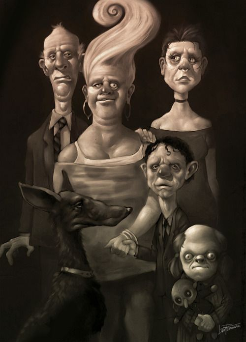 """Family Portrait"" by Lars Samsoe"