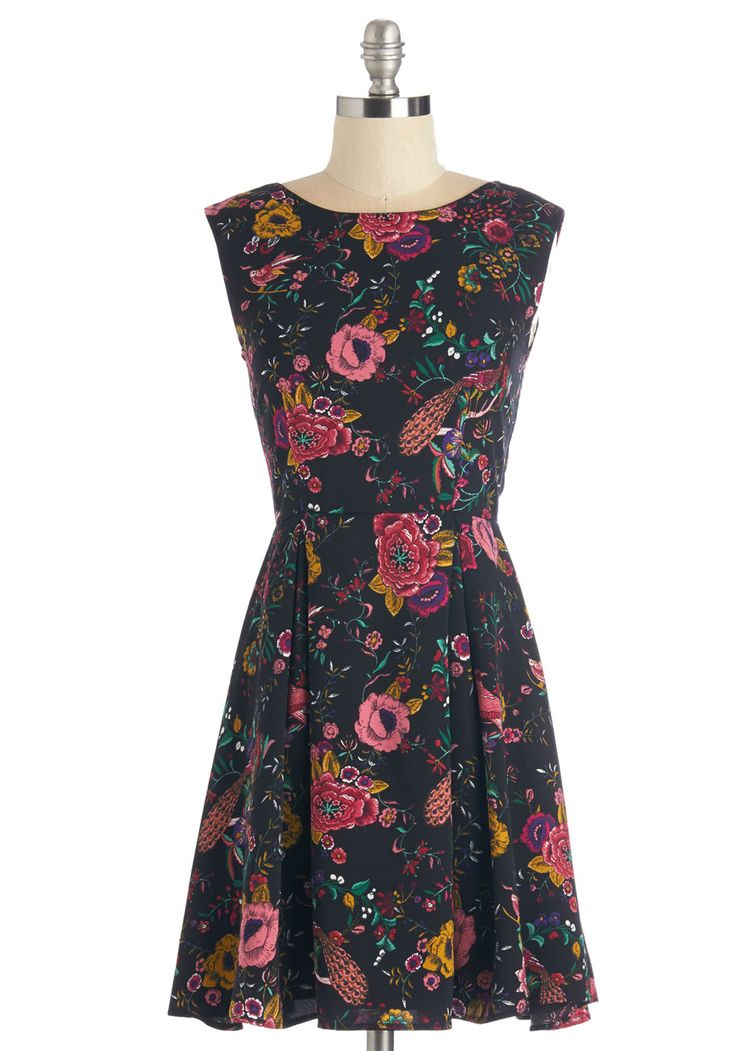 Florida and Fauna Dress. From Pensacola to Key West, you can never go wrong with a fab floral dress! #multi #modcloth