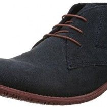 Red Tape Men's Hongkong Navy Leather Loafers and Mocassins - 8 UK