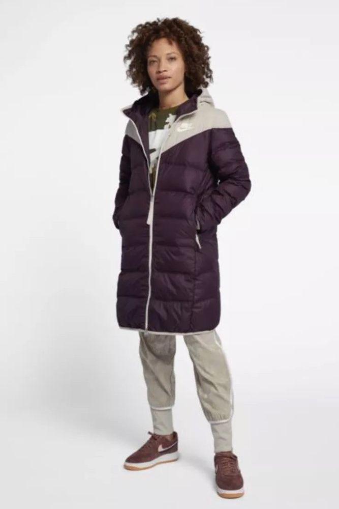 538f20830c6f Women s Reversible Down Fill Jacket Nike Sportswear Parka Windrunner Size  Large  Nike  QuiltedPuffer  Outdoor